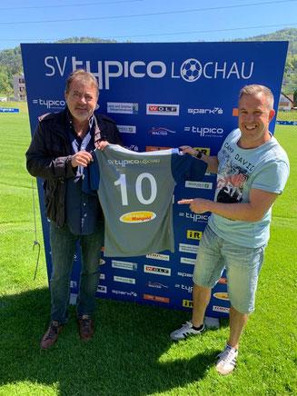 Günther Riedesser (rechts) wird neuer Co-Trainer beim SVL