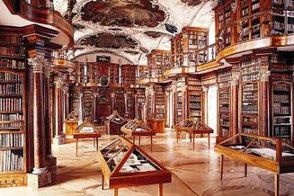 Foto: Stiftsbibliothek St. Gallen, Wikimedia, CC BY-SA 3.0