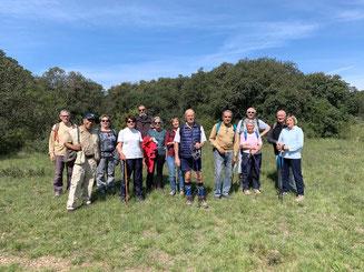 Les participants de la marche de Juvignac le 4 mai 2021 anocr34.fr