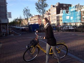 Mit dem Bike durch die Stadt