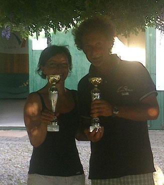Ewa Szczerbowska e Fabio Palermi su ITA15054 Grisù vincono la III° regionale