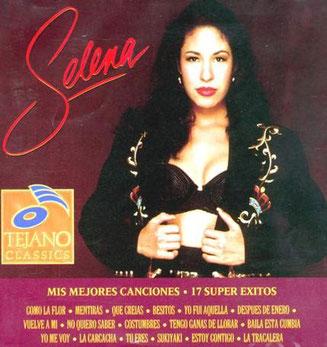 Selena – Mis mejores canciones – 17 Super Exitos