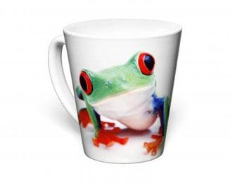 Mini Latte and Tall Latte Printed Mugs