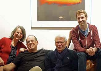 Schriftstellerin Aurelia L. Porter,  Fotograf Tim Rädisch, Galerist Gerd Uhlig, Komponist Maximilian Zemke - Verborgene Welten