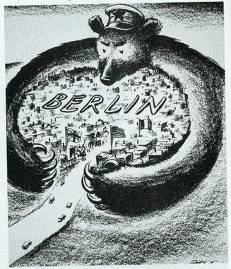 Crise de Berlin 1948 ours