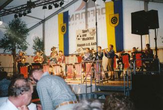 Sport- und Musikfest in Hausen