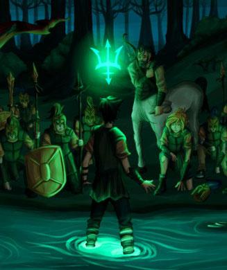 Percy és reconegut per Posidó com a fill seu