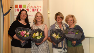 Dagmar Krüger, Anke Tielker, Claudia Erdmann und Anke Böse