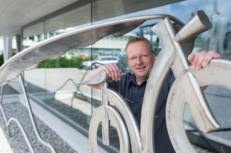 Biketec CEO Simon Lehmann