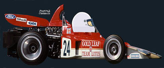 John Miles by Muneta & Cerracín - Gold Leaf Team Lotus ­ Lotus 72C