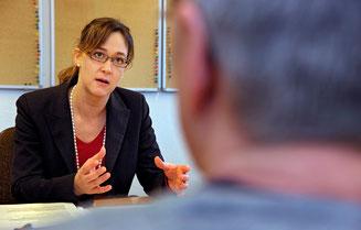 """Susanne Blank: """"Die durch Stress verursachten Kosten am Arbeitsplatz betragen 10 Milliarden Franken pro Jahr""""."""