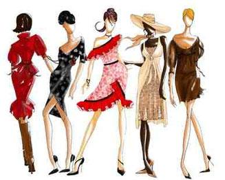 Schnittführung und Kleidungsstil