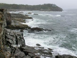 Küste im Acadia National Park