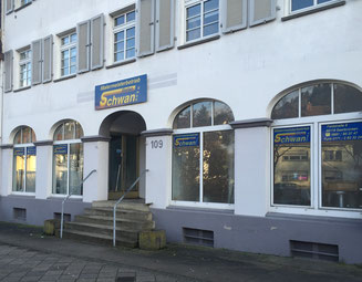 Firmensitz Stefan Schwan Malerfirma, in Saarbrücken