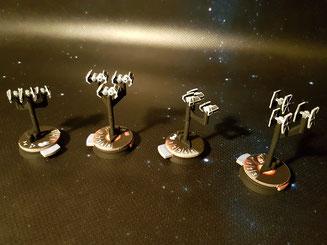 Die Sternenjägerstaffeln des Imperiums