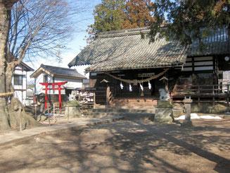 白鳥神社社殿