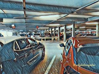 parken p2 und p3 flughafen frankfurt