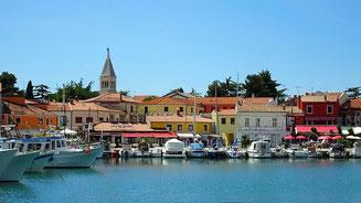 Mediterranes Flair an der Adria.