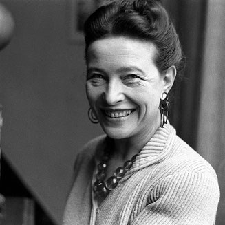 Simone de Beauvoir, feminist, second Sex