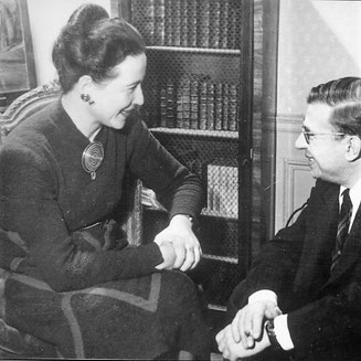 Simone de Beauvoir, Jean-Paul Sartre