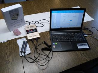 Gesundheitscheck Bio-Scan mit dem BQAS