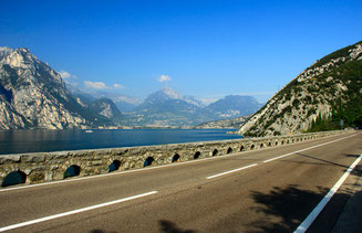 Gardasee Straße Italien