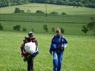 Fallschirmspringen Sky-Fun