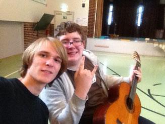 Jannis Riebschläger Gitarrenunterricht