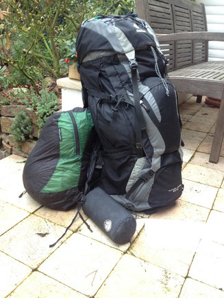 Rucksack Futura Vario Deuter Daypack ultrasil Sea to Summit