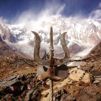 Annapurna Basecamp 2015 2016 4130 Meter Höhe Trekking Nepal