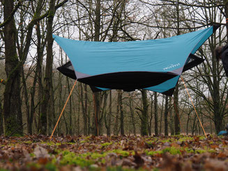Amazonas Moskito-Traveller Extreme Test mit Jungle Tent Pro und Microrope