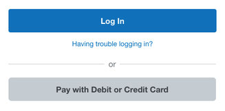 "Example: Look For and Click ""Pay with Debit or Credit Card"" to process your payment with a credit or debit card securely via PayPal. No PayPal account required."