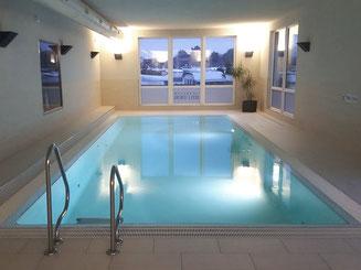 Ferienwohnung Wellnessbereich mit Schwimmbad