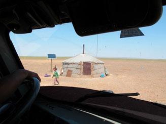die Nomaden geben immer gern Auskunft