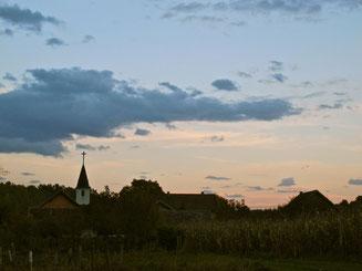 die kleine Kirche von Balantonfüred