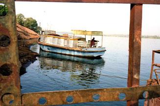 der Nil ist allgegenwärtig