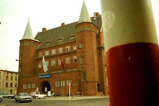 Einfahrt im Stralsund