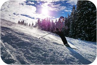 Skifahrer Wurmberg Harz