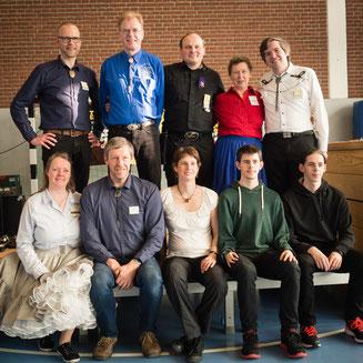 Gruppenfoto der aktiven Caller der CTN-Student-Party