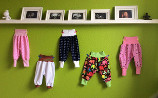 Babyhosensammlung