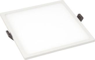 Bild: LED Paneel quadratisch 20W  Slim