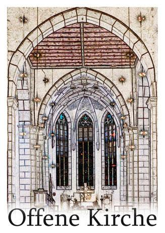 Ev. Kirchengemeinde Oberkaufungen Offene Kirche Besichtigung der Stiftskirche