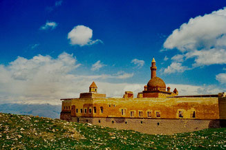 Ishak-Pasha-Palast in Dogubeyasit nahe der persischen Grenze