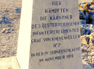 das Regiment von Graf von Khvenmüller schrieb auf Höhe 5 Geschichte