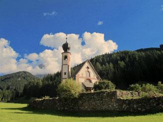 das bekannte Kirchlein St. Magdalena