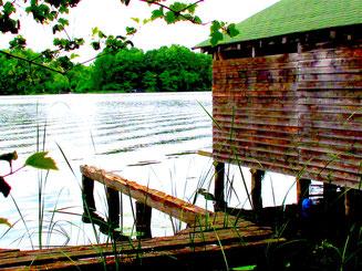 Bootshaus am Müritzer See