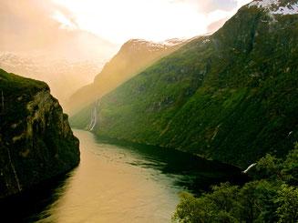 die Wasserfälle der sieben Schwestern