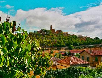 Viana hinter Los Arcos