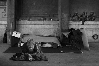Obdachloser  Symbolfoto Pixabay.com