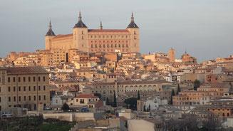 Toledo veduta panoramica